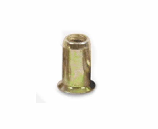 Rebite de Rosca Fechado Cilíndrico e Cabeça Cônica em Aço